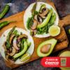 Tacos tipo carnitas con setas