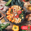 Verduras a la Sidra